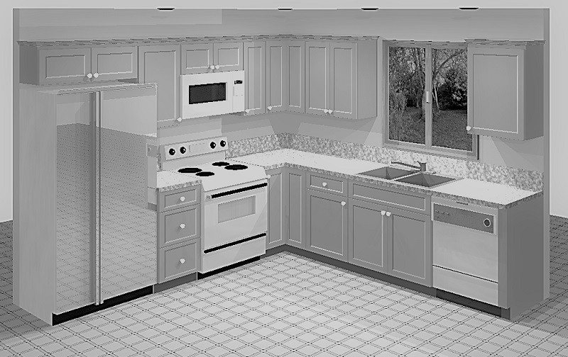 Mahogany Bay (Maple) Kitchen Cabinets