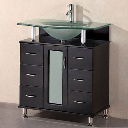 Design Element 30 Inch Single Sink Vanity Set