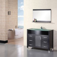 Design Element Cascade Single Sink Vanity Set