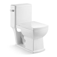 Town Square Linen Elongated One-piece Toilet
