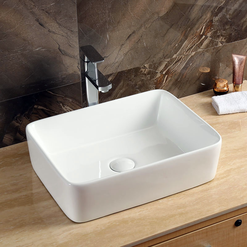 Rectangular Porcelain Sink