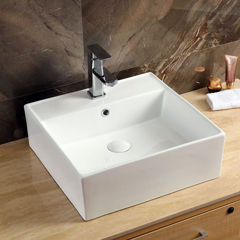Square Porcelain Sink
