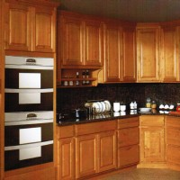Raised Panel Natural Maple Cabinet
