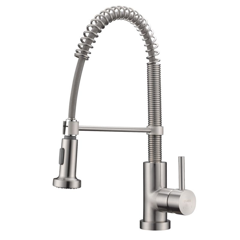 Single Handle Spring Kitchen Faucet