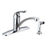 Single Handle Kitchen Faucet with Side Sprayer