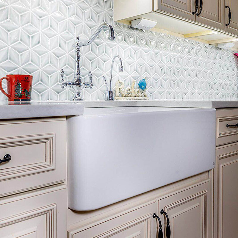 Kitchen Apron Porcelain Sink