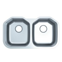 Double Bowl Stainless Steel Kitchen Sink 9