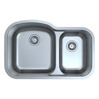 NEW Double Bowl Stainless Steel Kitchen Sink