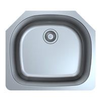 Single Bowl Stainless Steel Bar or Kitchen Sink