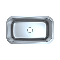 Large Single Bowl Stainless Steel Kitchen Sink